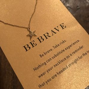 Jewelry - NEW Be Brave Layered Necklace